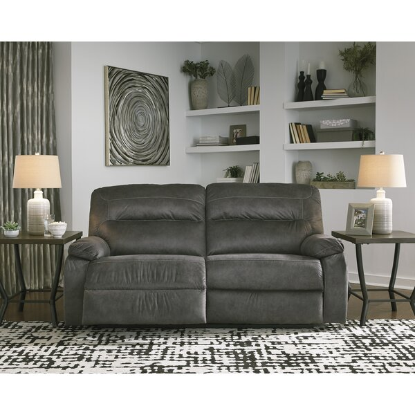 Expert Reviews Wimberley Reclining Sofa by Red Barrel Studio by Red Barrel Studio