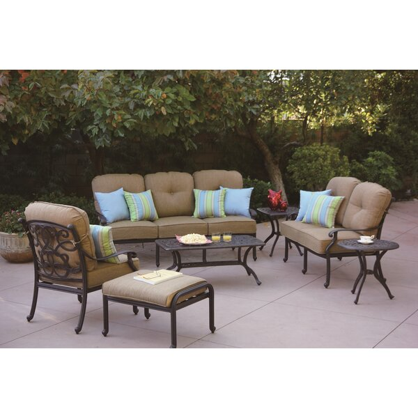 Calhoun 7 Piece Sofa Set with Cushions by Fleur De Lis Living