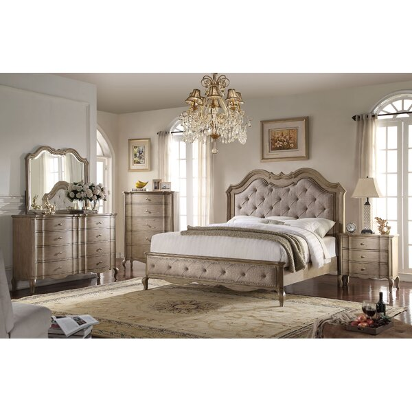 Anatolio Tufted Platform Configurable Bedroom Set by One Allium Way