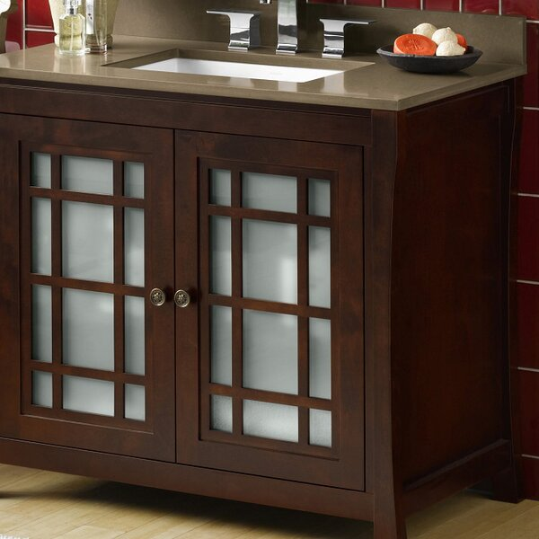 Shoji 36 Single Bathroom Vanity Set by Ronbow