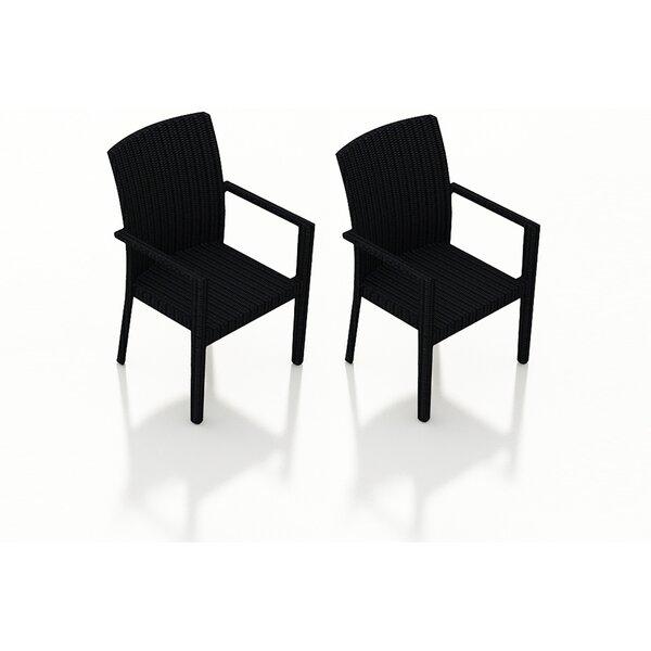 Azariah Patio Dining Chair (Set of 2) by Orren Ellis Orren Ellis