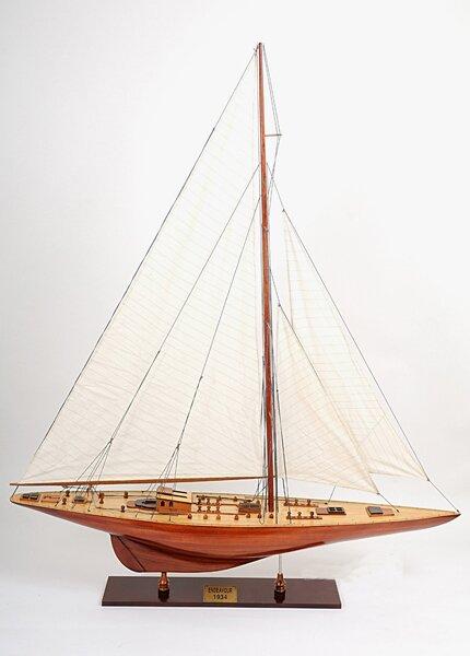 X-Large Endeavour Model Boat by Old Modern Handicrafts