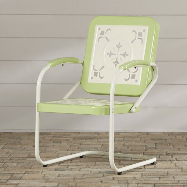 Mericle Patio Dining Chair by Bungalow Rose