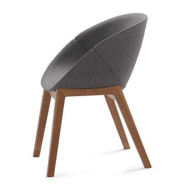 Coquille-L Lounge Chair by Domitalia