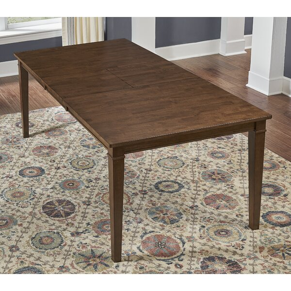 Giligia Extendable Solid Wood Dining Table by Winston Porter Winston Porter