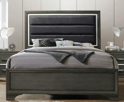 Gaven Upholstered Panel Bed by Ivy Bronx
