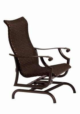 Montreux Woven Action Patio Chair by Tropitone