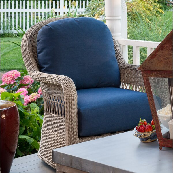 Barns Patio Club Chair with Cushions by Darby Home Co
