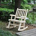 Talmage Wooden Rocking Chair by Millwood Pines