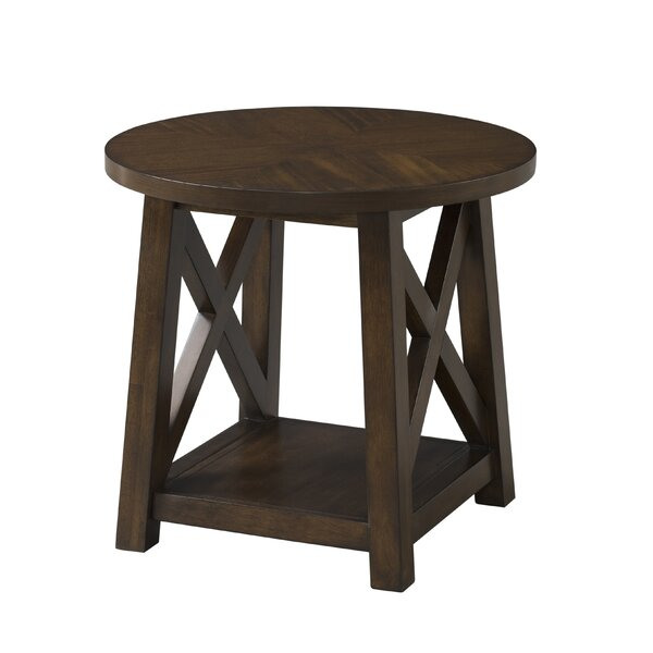 Scranton End Table by Gracie Oaks