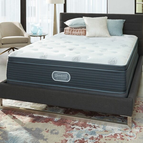 Beautyrest Silver 12 Medium Innerspring Mattress and Box Spring by Simmons Beautyrest