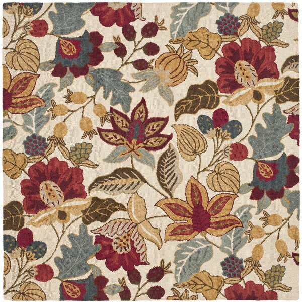 Payne Ivory/Multi Area Rug by Darby Home Co