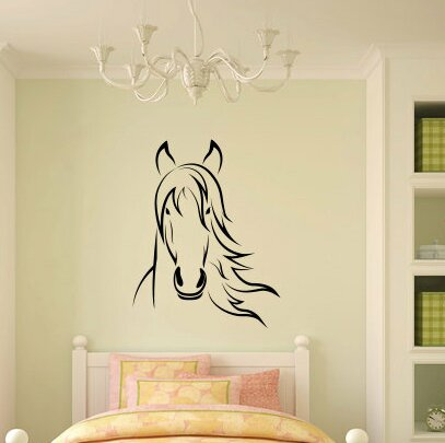 Rosanne Horse Wall Decal by Zoomie Kids