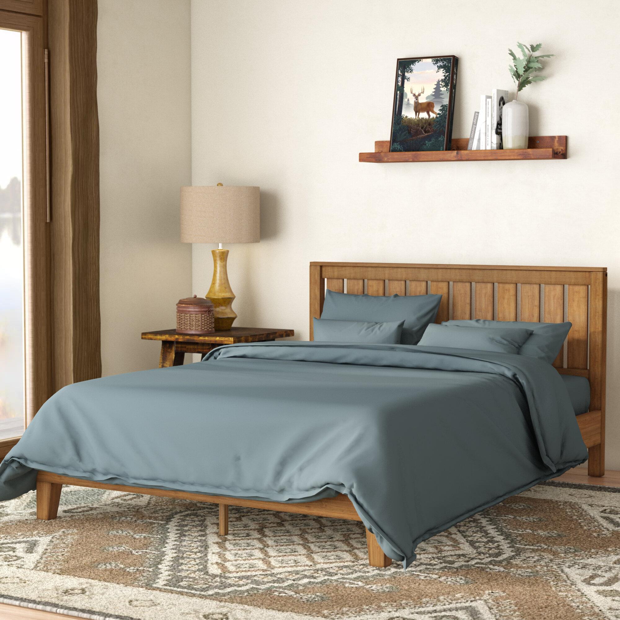Brown Beds You Ll Love In 2021 Wayfair