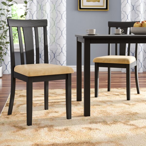 Oneill Slat Back Dining Chair (Set of 2) by Andover Mills