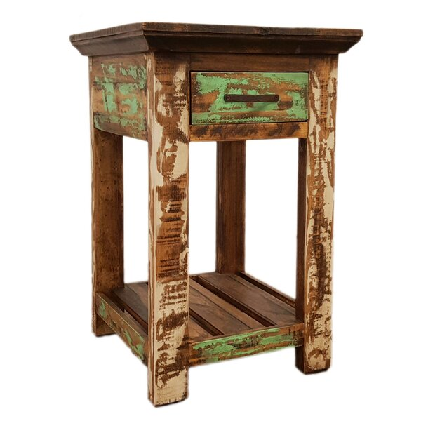 Freelon End Table with Storage by Millwood Pines