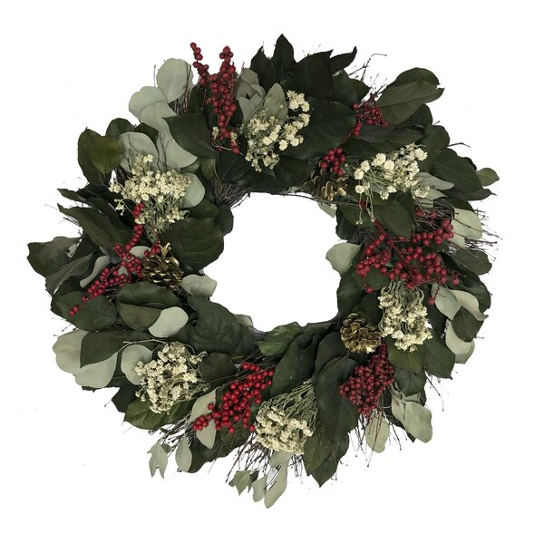 Classic Charm Wreath by August Grove