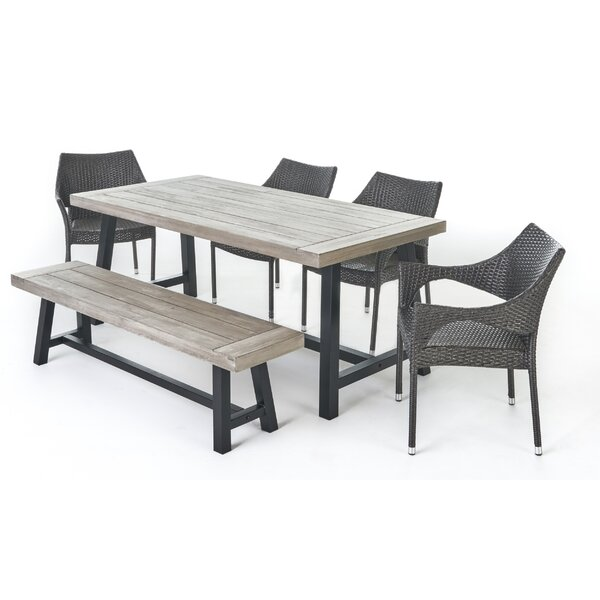 Odessa 6 Piece Dining Set by Gracie Oaks