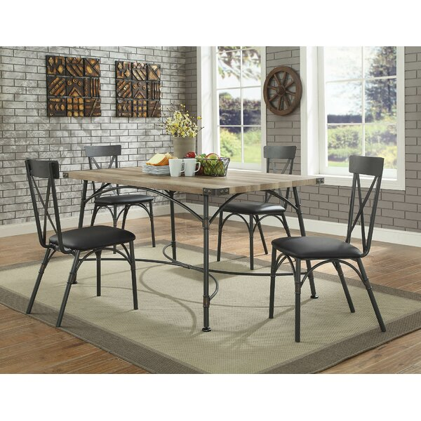 Christofor 5 Piece Dining Set by 17 Stories