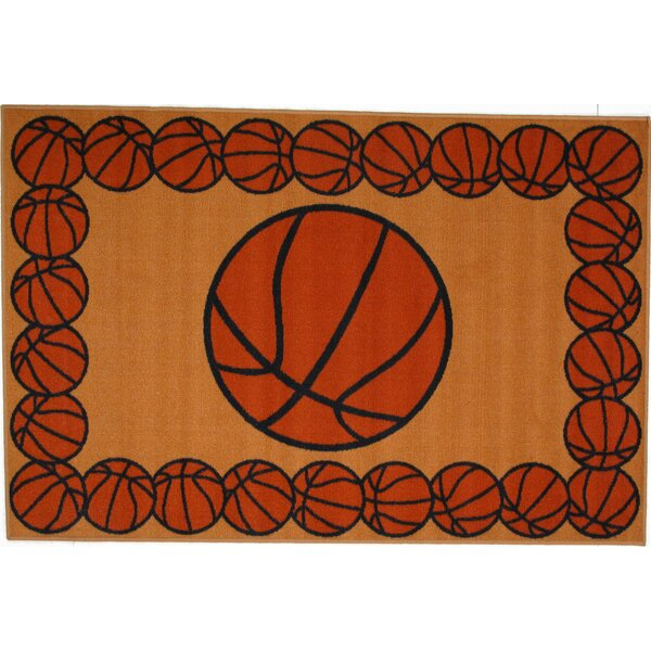 Fun Time Basketball Time Area Rug by Fun Rugs