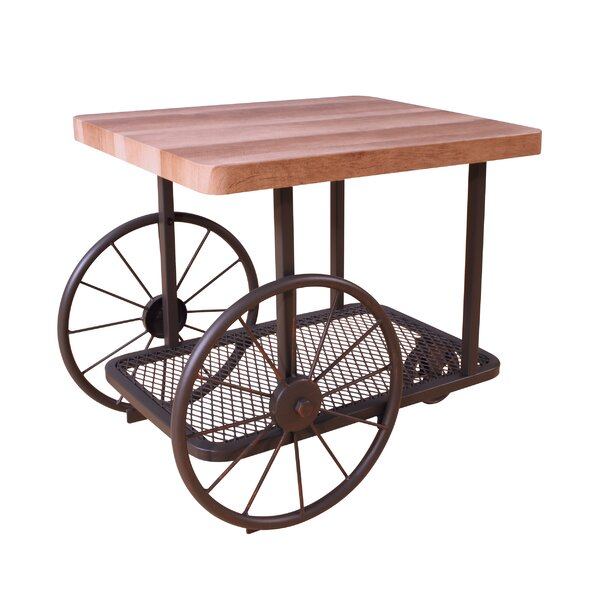 Herrod End Table by Williston Forge