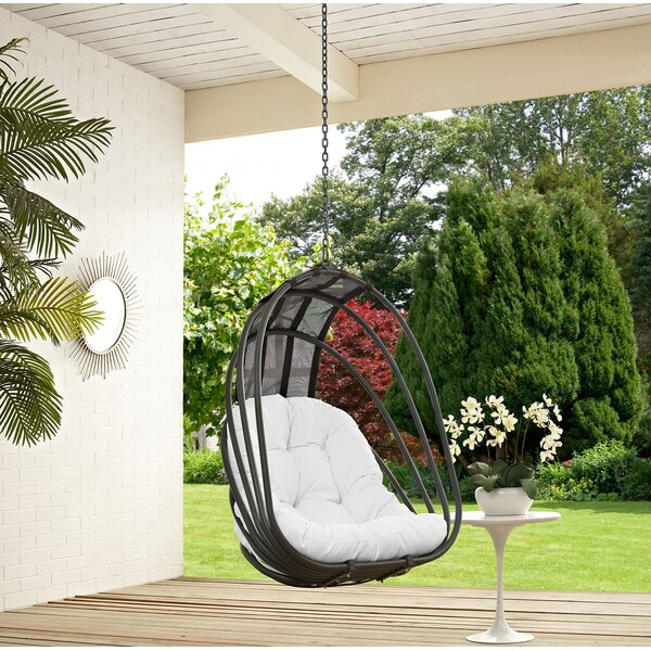SkeltinCleveland Swing Chair by Bungalow Rose