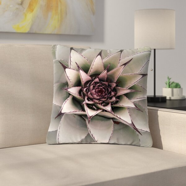 Suzanne Carter Succulent Outdoor Throw Pillow by East Urban Home