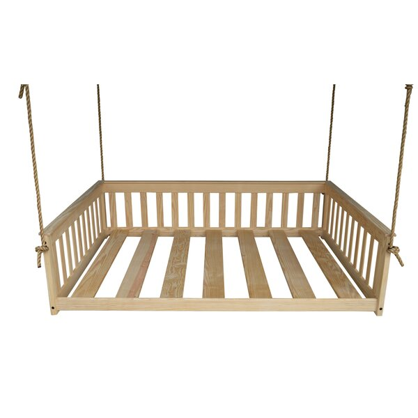 Carol Mission Hanging Daybed By Rosecliff Heights