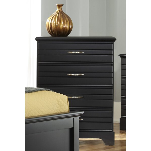 Della 4 Drawer Dresser by August Grove