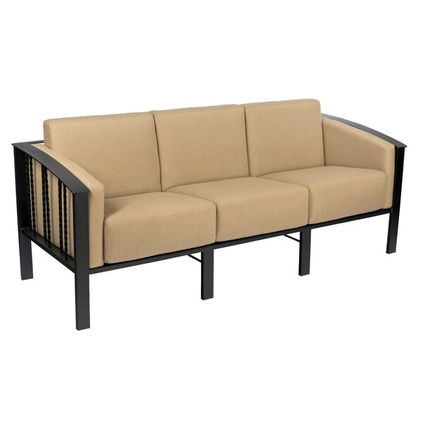 Comstock Patio Sofa With Cushions By Woodard