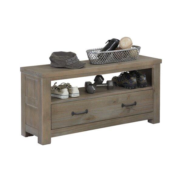 Bedlington Wood Storage Bench by Greyleigh