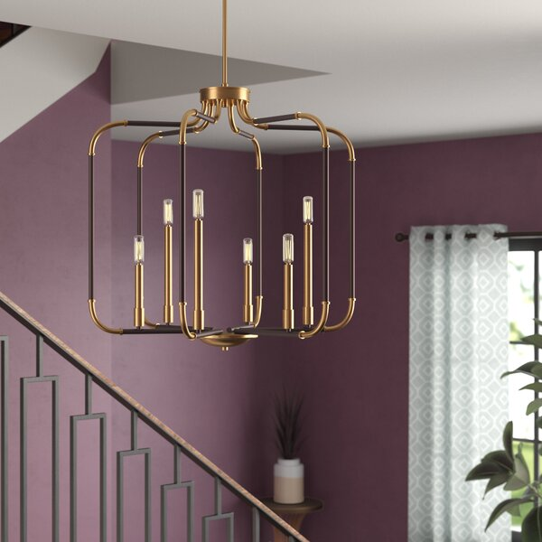 Jairo 6-Light Lantern Pendant by Langley Street