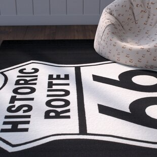 Looking for Angelica Black Area Rug By Zoomie Kids