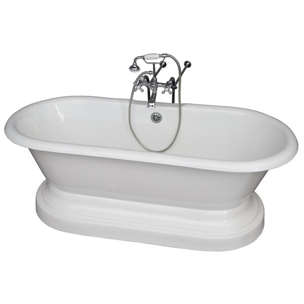 67.75 x 31 Soaking Bathtub Kit by Barclay