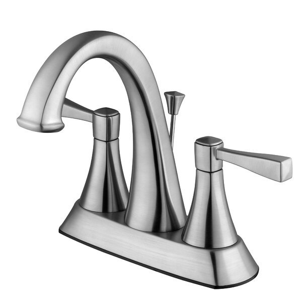 Perth Lavatory Centerset Faucet with Drain Assembly