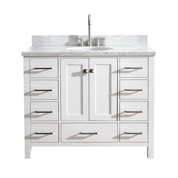 Utley Modern 43 Single Bathroom Vanity Set by Andover Mills
