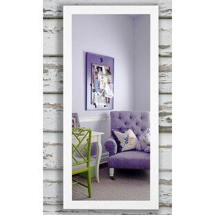 Brayden Studio White Beveled Vanity Wall Mirror