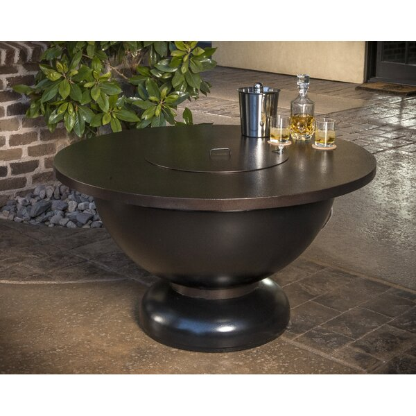 Modish Steel Propane Fire Pit Table by CC Products