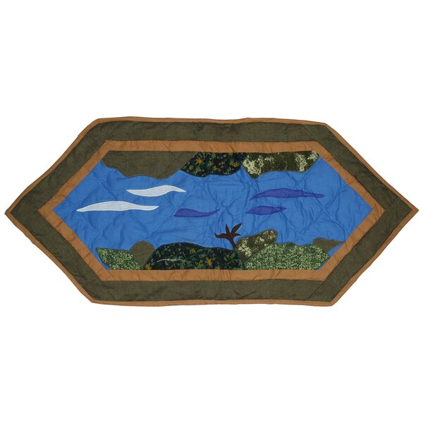 Fly Fishing Table Runner by Patch Magic