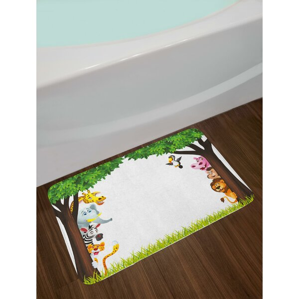 Big Trees Nursery Bath Rug by East Urban Home