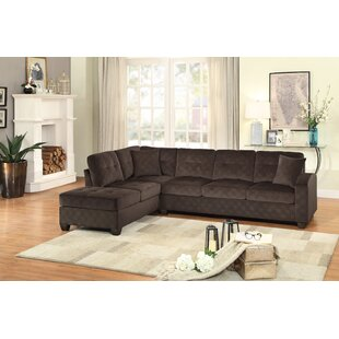 Chaise Sofa Sectionals You\'ll Love | Wayfair