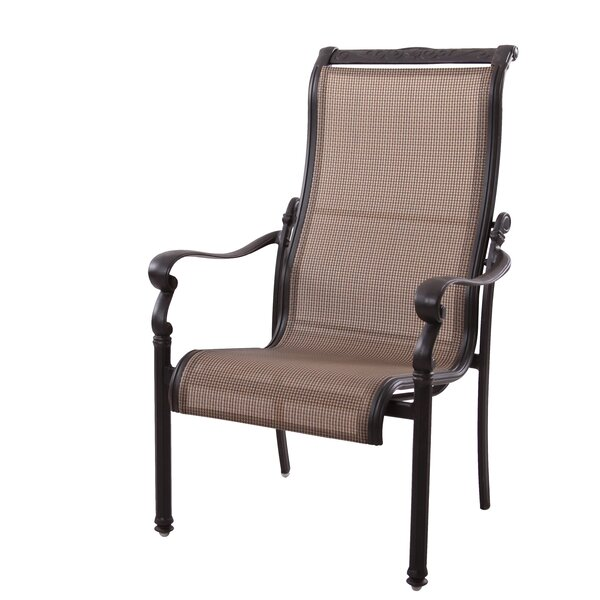 Bagwell Stacking Patio Dining Chair (Set of 4) by Darby Home Co