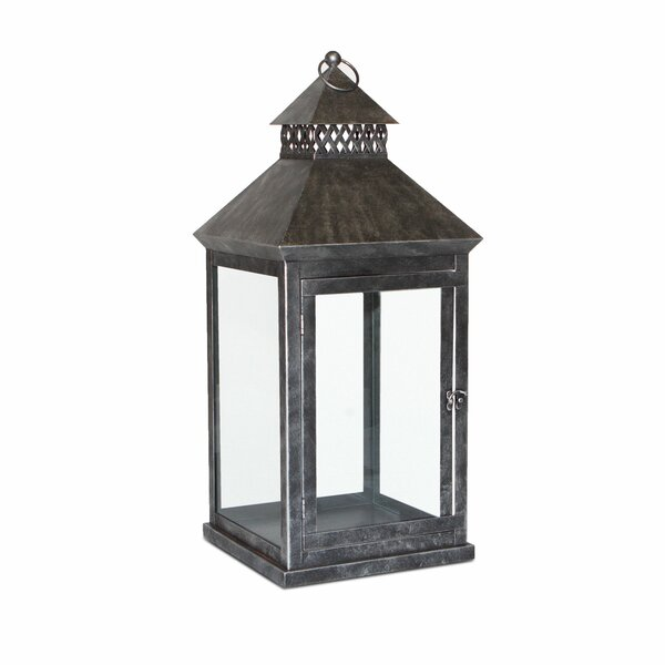 Greenwich Steel Lantern by Peak Season Inc.
