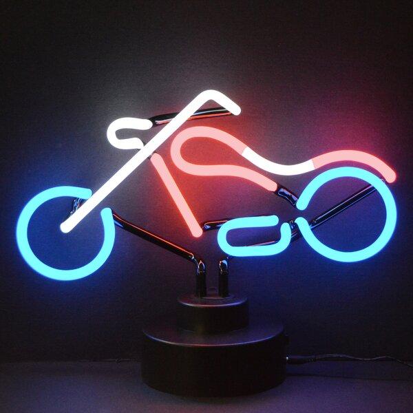 Chopper Neon Sculpture by Neonetics