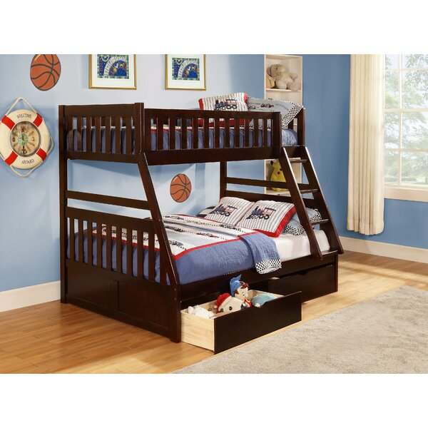 Adela Leonard Bunk Bed with Trundle by Viv + Rae