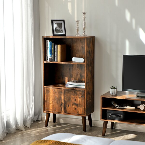 Price comparison Wethersfield Standard Bookcase by Millwood Pines