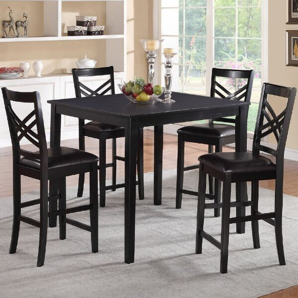 Medford 5 Piece Dining Set by A&J Homes Studio