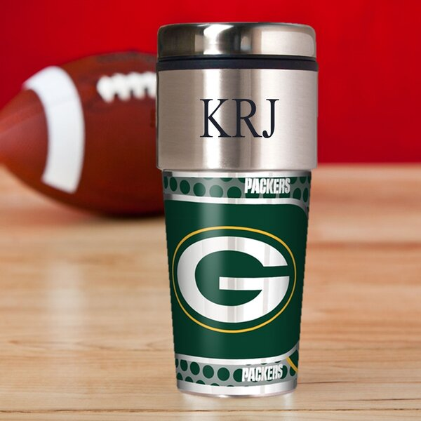 Personalized Packers Travel Mug by JDS Personalized Gifts