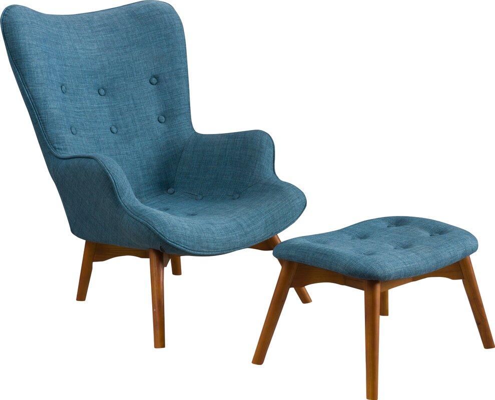 Canyon Vista Lounge Chair and Ottoman Reviews Joss Main
