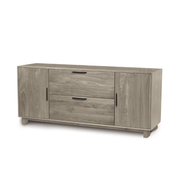 Linear Office Storage 2-Drawer Lateral Filing Cabinet